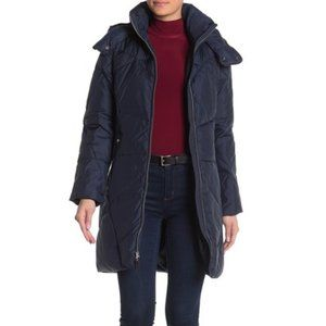 NWT Cole Haan Padded Stitch Down Coat XS $398